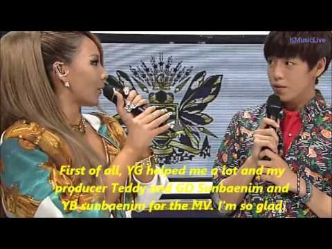 [ENG SUB] 130602 CL's Interview in SBS Inkigayo