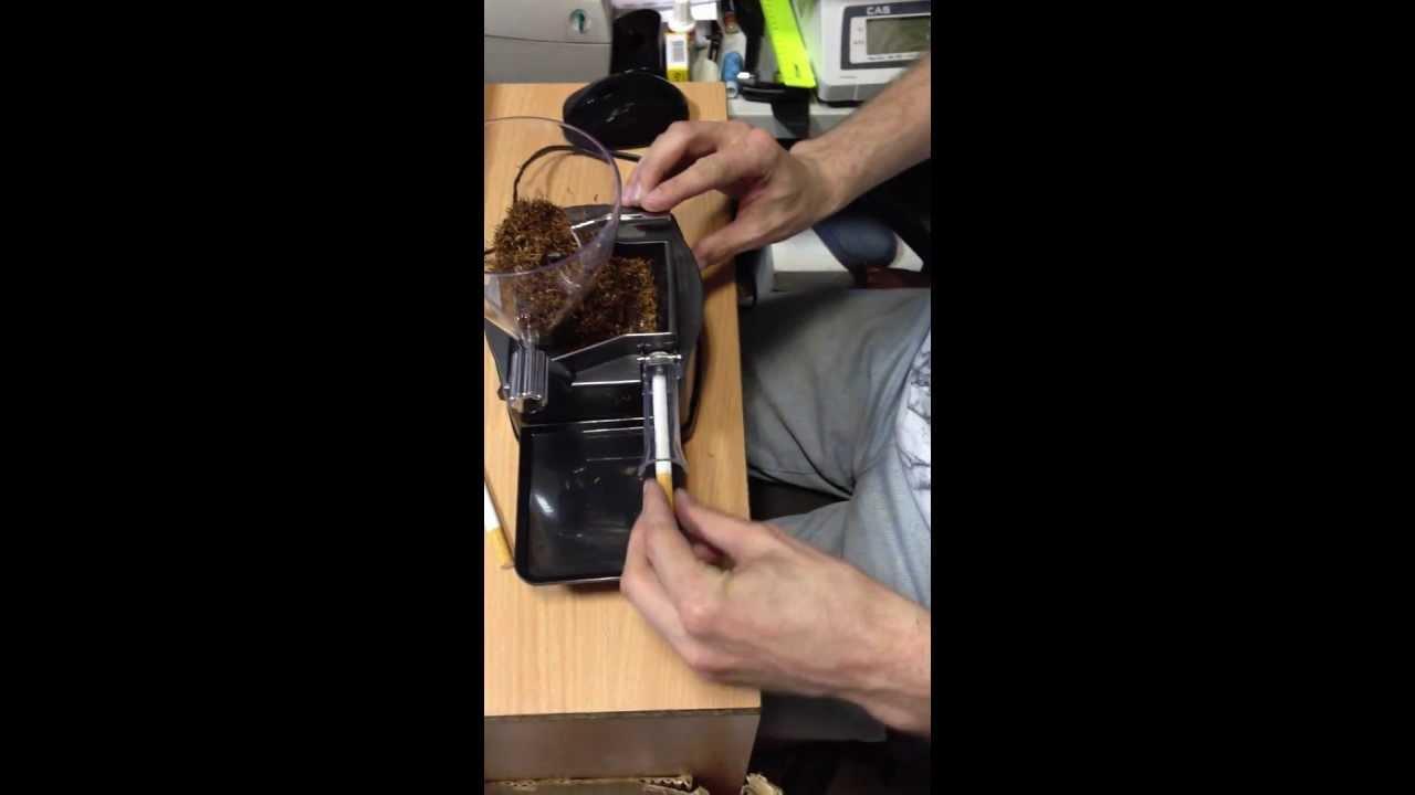 Как сделать станок для сигарет 223