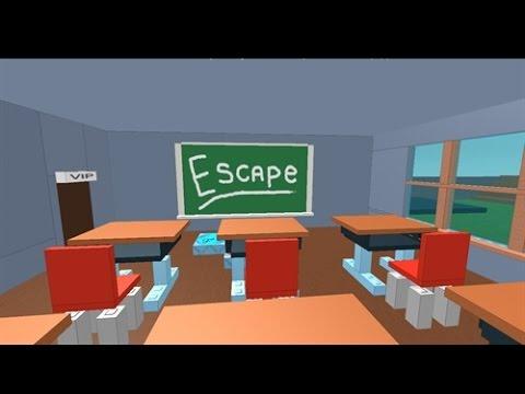 Roblox-Escape School Detention