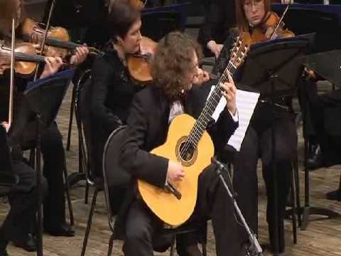 Fernando Sor - Nikita Koshkin 'Fantasia Concertante' for guitar and orchestra (Allegro)