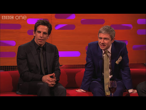 Martin Freeman is compared to a hedgehog - The Graham Norton Show: Episode 9 Preview - BBC One