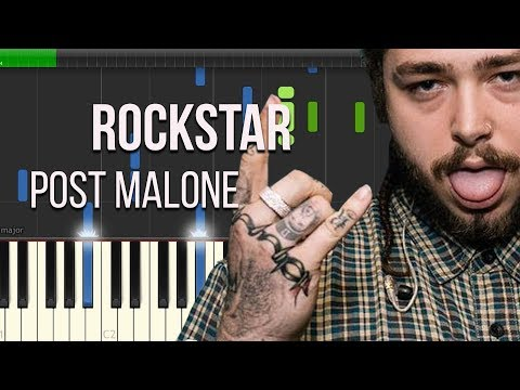 Post Malone - Rockstar - Piano Tutorial - Igor Platonov | Sheets Music