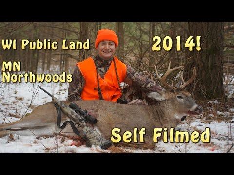 2014 Deer Hunting Season WI, MN Self Filmed