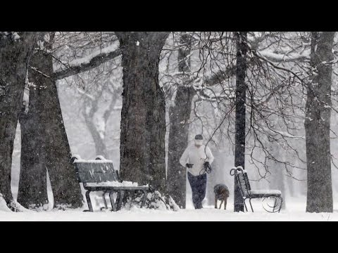 Winter storm hits Northeast as another approaches