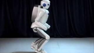 Thumb Robot Humanoide de Toyota corre a 7 Km por hora