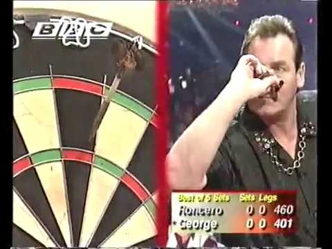 George vs Roncero Darts World Championship 1998 Round 1 George vs Roncero
