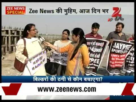 Protesting Amrapali Golf Home buyers hit Noida streets, demand possession