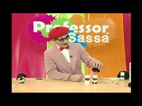 Rolinho de papel Higiênico - Professor Sassá