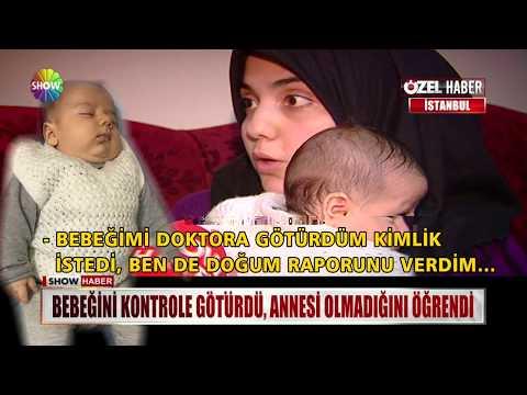 Bebeğini kontrole götürdü, annesi olmadığını öğrendi