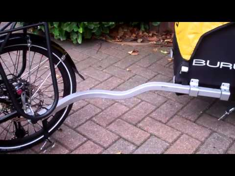 ICE TRIKE SPRINT FRS and a problem with the BURLY trailer!