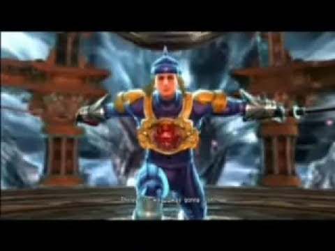 Megaman EXE's story in Soul Calibur IV