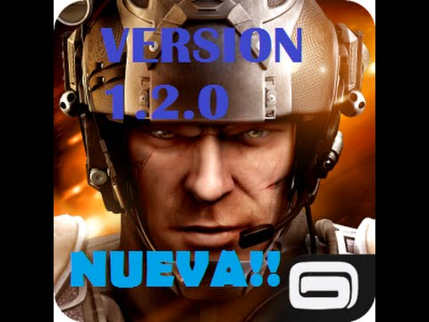 ULTIMA VERSION 1.2.0 Modern Combat 5 para android