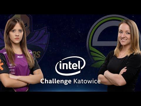 CS:GO - KeydStarsFemale vs. Singularity [Train] - Group A Decider - Intel Challenge Katowice 2018