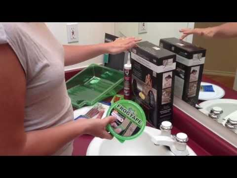 Painting Countertops with Giani Paints. Part 1 of 5 What You Will Need and Prep