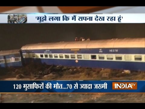 Patna-Indore Train Accident: 120 Killed, over 70 Injured near Kanpur