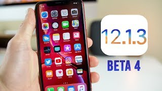 iOS 12.1.3 Beta 4 Released - What's New?