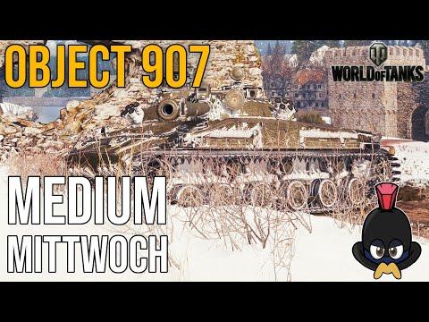 World of Tanks | Medium Mittwoch im Object 907 auf Erlenberg