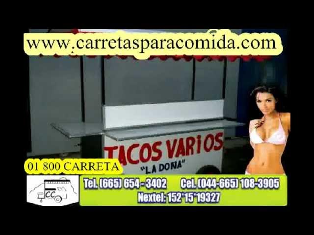 CARRITOS DE COMIDA, FABRICACION 01 800 CARRETA.qt
