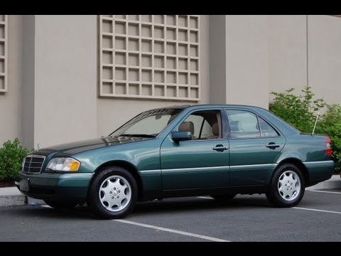 1995 Mercedes Benz C220 Sedan Walk-Around at Louis Frank Motorcars, LLC in HD