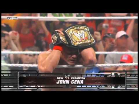 Cm Punk Returns With The WWE Title + New Theme Song !.mp4