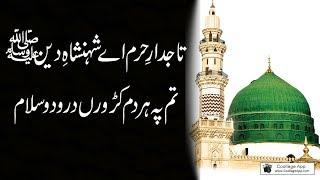 Tajdar-e-Haram Ae Shahenshah-e-Deen   SALAM   Best New Naats 2018  LYRICS  Ramzan Shareef 2018
