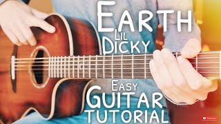 Earth Lil Dicky Guitar Tutorial // Earth Guitar // Guitar Lesson #668