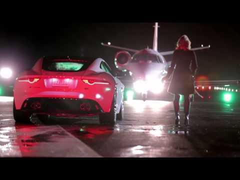 Jaguar F-TYPE Coupé commercial making of with Ben Kingsley Tom Hiddleston (super bowl)