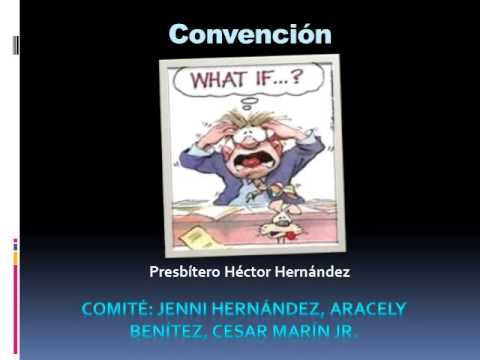 Presentation Convencion California