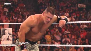 John Cena chooses The Rock as his partner for Survivor Series[HD]