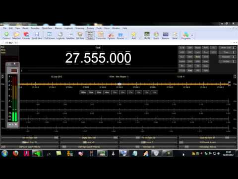 Ham Radio Deluxe &  YAESU FT897D on 27 555 00 USB