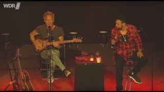 Sting Shaggy Dominic Miller Morning Is Coming 2018 Live At The Church Cologne