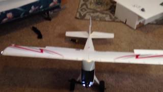 SHOWING THE RC PLANE ALL PUT TOGETHER
