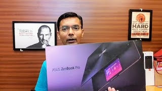 Asus Zenbook Pro 15 Laptop Unboxing With Dual Display
