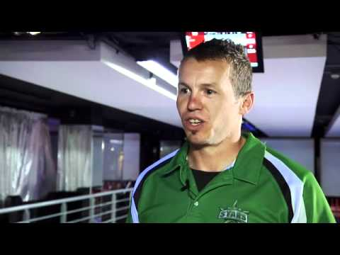 Meet Melbourne Stars player - Peter Siddle