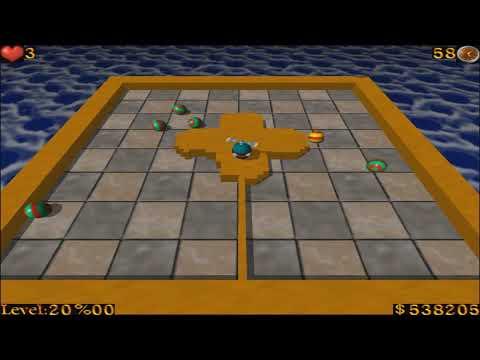AirXonix - Walkthrough Part 4 - [Hard 20 Levels]