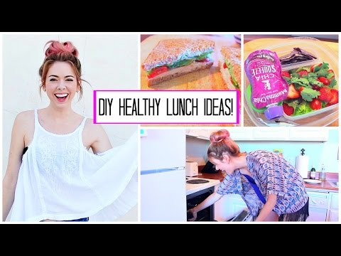 DIY Healthy School & Work Lunch Ideas!