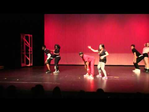 Shannon Kelly dance routine for Spanish Springs High School Cougarlicious