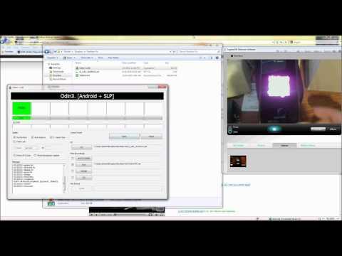 Samsung Vibrant 3G Odin & rom flash tutorial