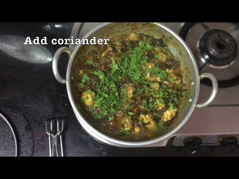 #GonguraChicken The Best Andhra Gongura Chicken Curry | గోంగూర చికెన్ | Sorrel Leaves Chicken |