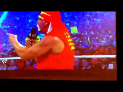 The Rock, Stone Cold, & Hulk Hogan Wrestlemania 30!