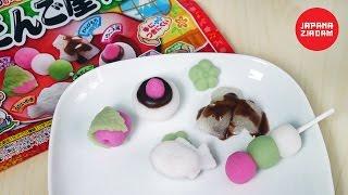 Miniaturowe desery z ciasta ryżowego - JAPANA zjadam #90