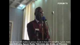 Procès du 4 mars 2012  Audition des généraux Mondjo B  Richard Moukoki Gilbert  Ngakala Michel Ngond