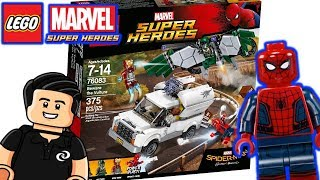 SpiderMan Homecoming Cuidado con Vulture Lego Super Heroes Set 76083