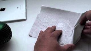 Best quality iPad 2 Skin - Repairing creases and Wrinkles - Silver Leather - by stickerboy - part 1