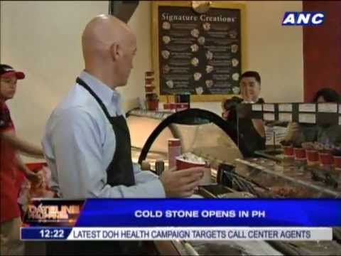 Cold Stone Creamery opens in PH