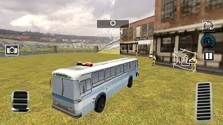 Indian Police Bus Simulator #2 Android GamePlay & Police Bus Game Video