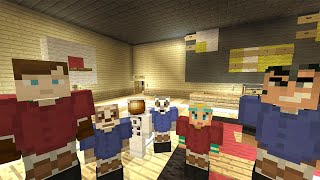 Minecraft Xbox Lets Play - Survival Madness Adventures - Basket Ball [139]