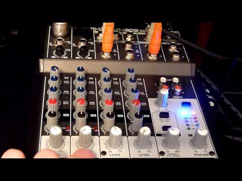 Review: Behringer Xenyx 802 Mixer