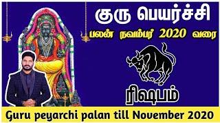 Guru peyarchi palan 2019 rishabam | குரு பெயர்ச்சி ரிஷபம் ராசி பலன் 2019
