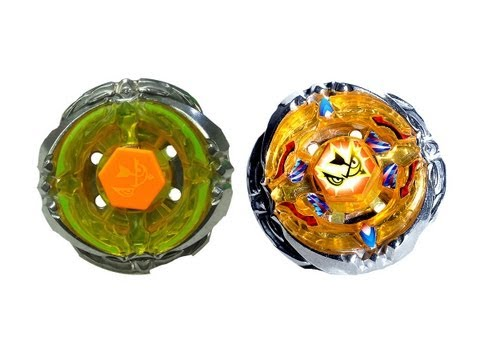 Beyblade Metal Fury Hyperblades Flash Sagittario Battles - HB Flash Sagittario X Flash Sagittario TT